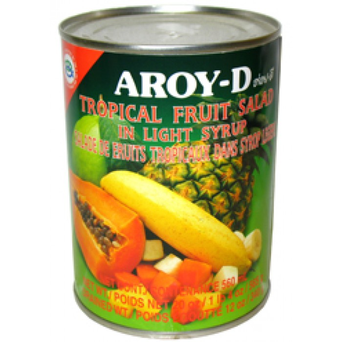 AROY-D Tropical Fruit cocktail 565g