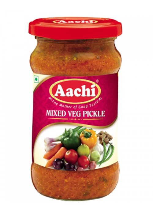 Aachi Mixed Vegetable Pickle 300g