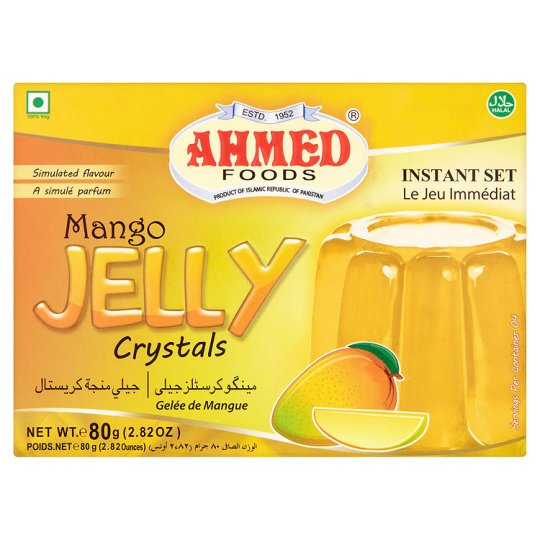 Ahmed Jelly Mango Halal 80g