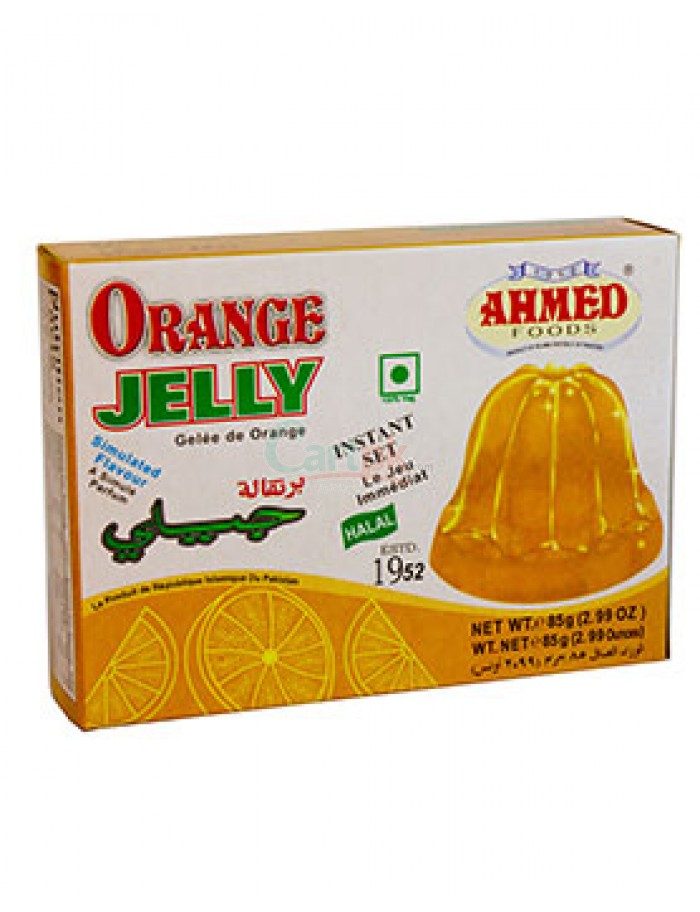 Ahmed Jelly Orange Halal 80g