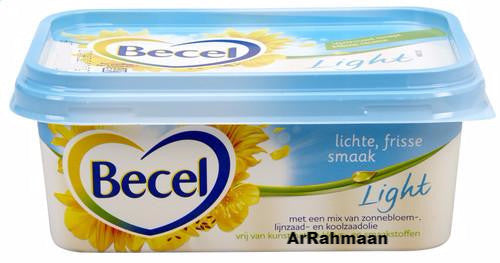 BECEL Light breadsm. 30% VG 250g