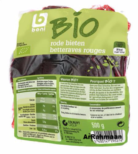 BONI SELECTION BIO Red beets 500g
