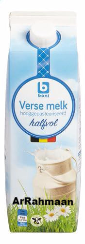 BONI SELECTION Fresh HV milk (brik) 1L