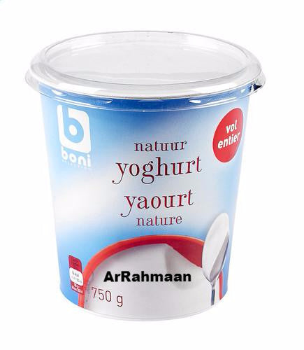 BONI SELECTION Full yogurt wet. 750g