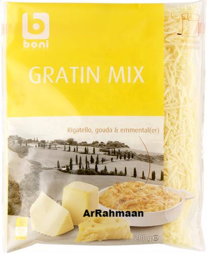 BONI SELECTION Gratin mix Grated cheese 200g