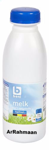 BONI SELECTION Half-milk (cap) 500ml
