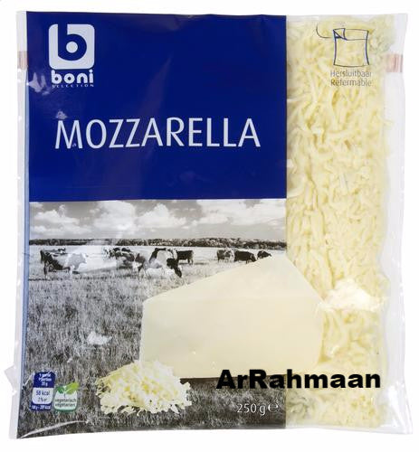 BONI SELECTION Mozzarella grated 250g