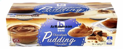 BONI SELECTION Pudding chocolate 6x140g