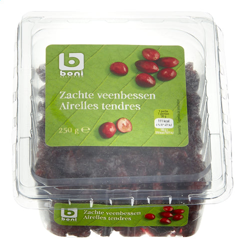 BONI SELECTION Soft Dried cranberries 250g