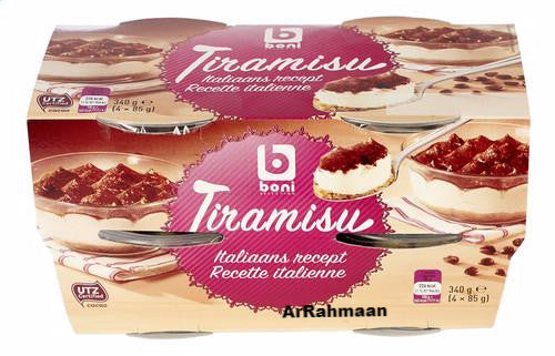 BONI SELECTION Tiramisu 4x85g