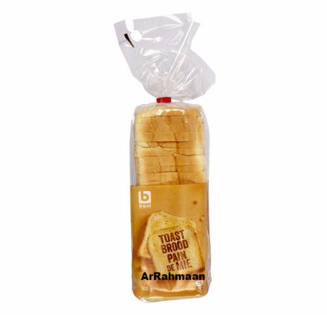 BONI SELECTION Toast bread 500g
