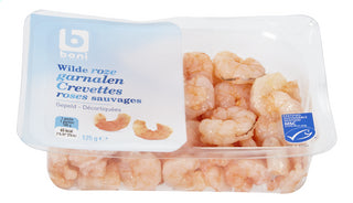 Boni Selection Wild pink shrimp Peeled 125g