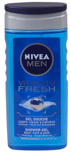 NIVEA MEN Vitality Fresh shower 250ml