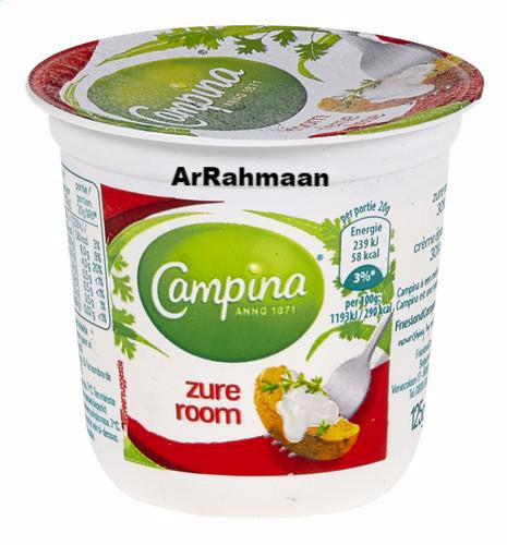 CAMPINA Sour cream 30% VG 125ml