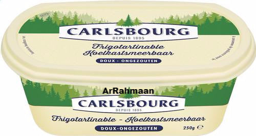 CARLSBOURG Butter in fleet 250g