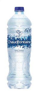 CHAUDFONTAINE mineral water (pet) 1L