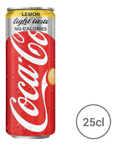 COCA-COLA Light lemon (Tin) 250ml