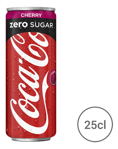 COCA-COLA Zero Cherry (Tin) 250ml