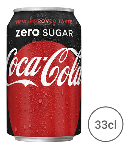 COCA-COLA Zero Sugar (Tin) 330ml