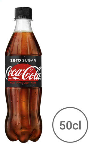 COCA-COLA Zero Sugar (cap) 500ml