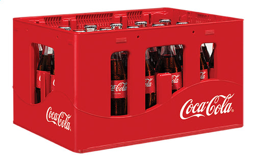 COCA-COLA glass bottle (box) 24x200ml