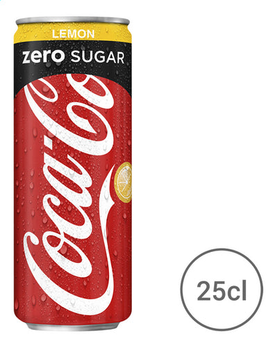COCA-COLA zero lemon (Tin) 250ml