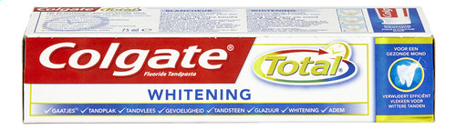 COLGATE Total whiteness 75ml
