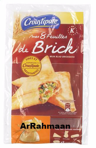 CROUSTIPATE 8-piece brick dough 136g