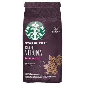 Starbucks Caffè Verona Dark Ground Coffee 200g