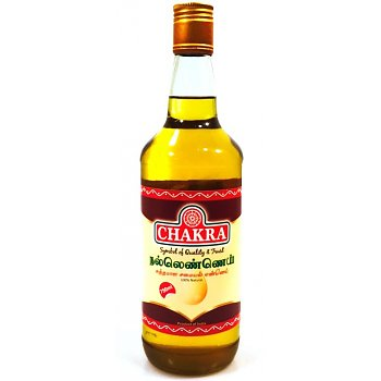 Chakra Gingelly Oil 750ml