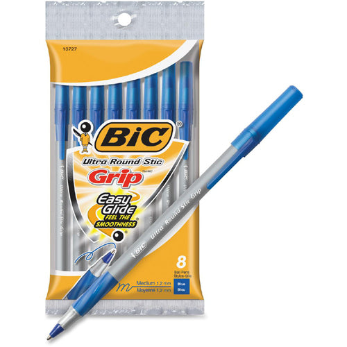 BIC ballpoint pen 8 pieces