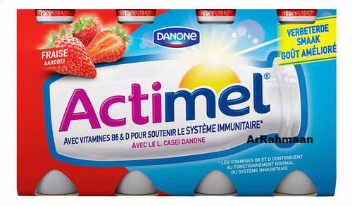 DANONE ACTIMEL Strawberry 8x100g