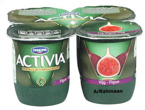 DANONE ACTIVIA Yogurt figs 4x125g