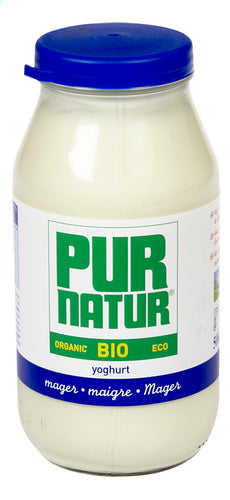 PURNATURE Full bio-yogurt nature Glass 500g
