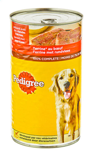 PEDIGREE terrine with beef 1250g