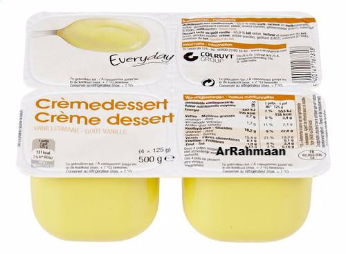EVERYDAY Dessert cream vanilla 4x125g