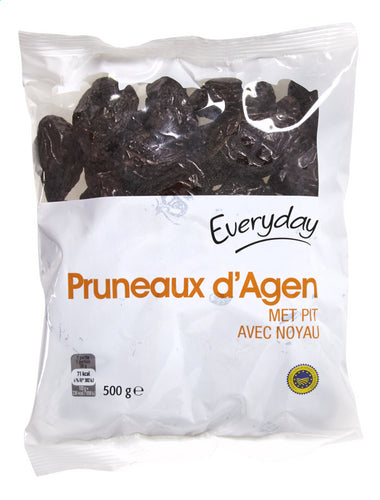 EVERYDAY Dried plum with seed 500g