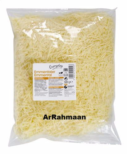 EVERYDAY Emmentals grated 500g