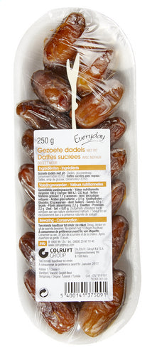 EVERYDAY Sweetened dates with seed 250g