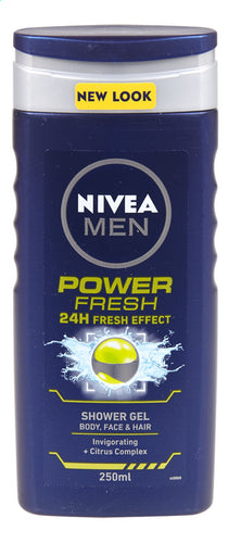 NIVEA MEN shower Power Fresh 250ml
