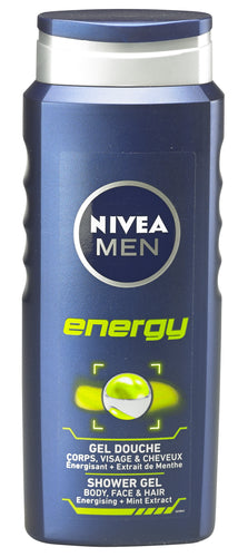 NIVEA MEN shower Energy 500ml