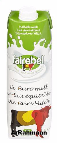 FAIREBEL Semi-skimmed milk (piece) 1L