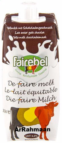 FAIREBEL chocolademelk (brik)  330ml