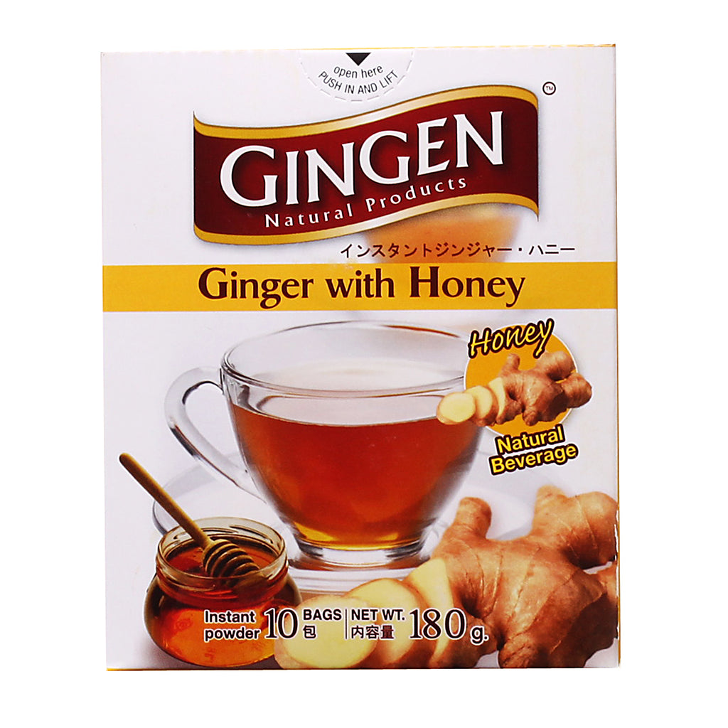 GINGEN Ginger Beverage Honey (12bags) 216g