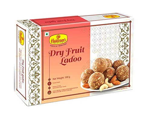 Haldiram's Nagpur Dry Fruit Laddu 500g