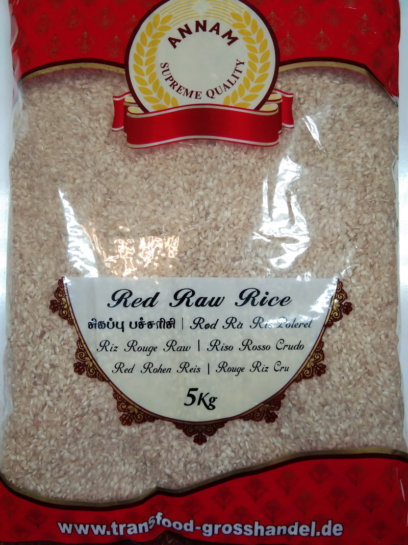Annam Red raw Rice Polished 5kg