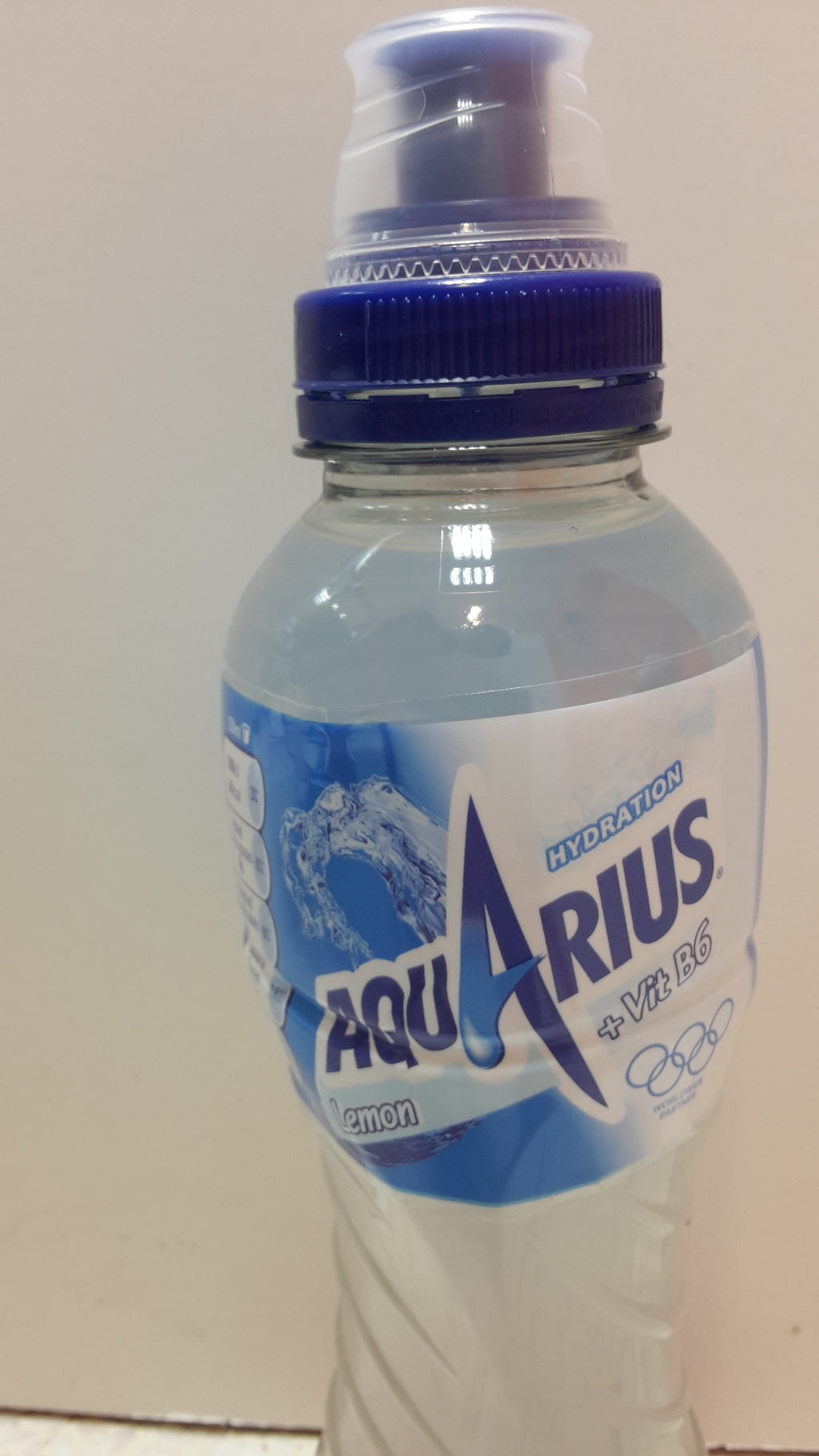 AQUARIES Hydration Lemon (cap) 500ml