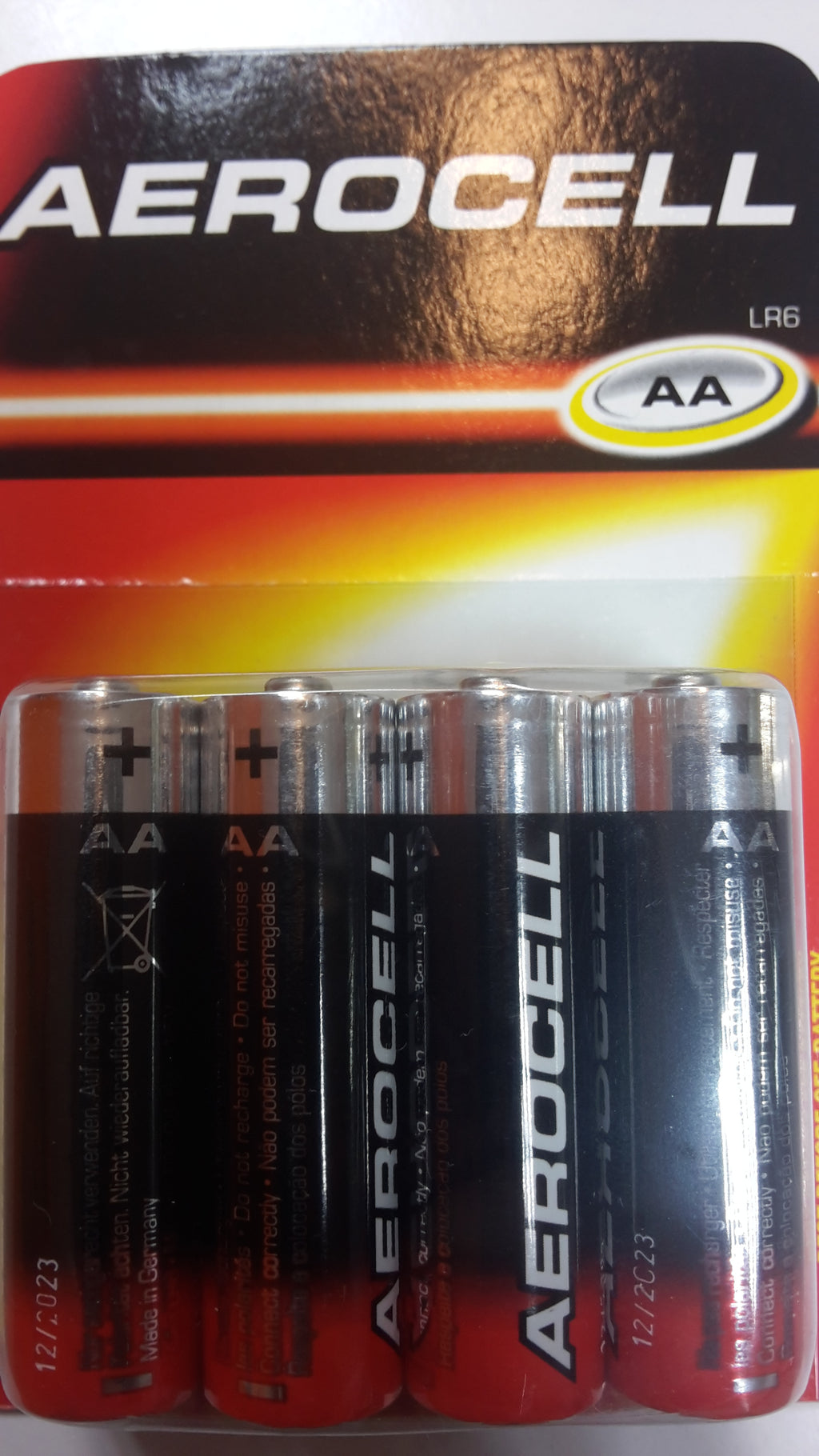Aerocell AA Batteries 8pieces