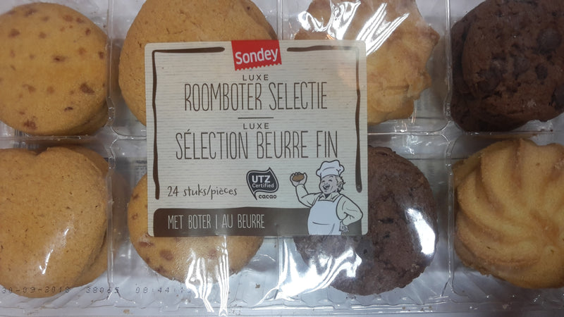Sondey Butter Cookies 24pieces 300g