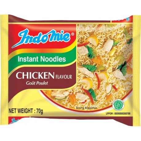 INDOMIE Instant Noodle Chicken 70g